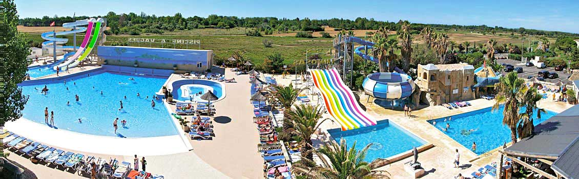 Camping h rault location mobil home h rault vacances for Camping bormes les mimosas piscine